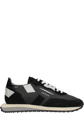 GHOUD Rush Black Silver Sneakers