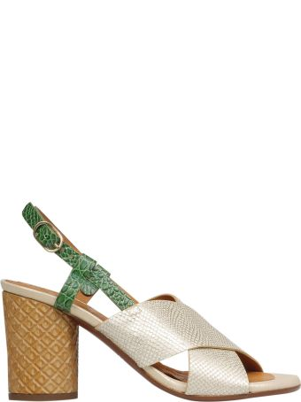 Chie Mihara Cross Straps Sandals