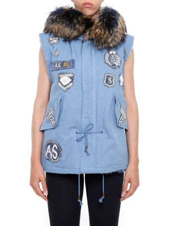 AS65 Vest With Fur