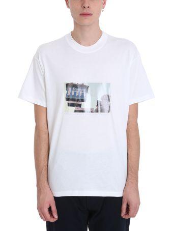 Bonsai White Cotton T-shirt