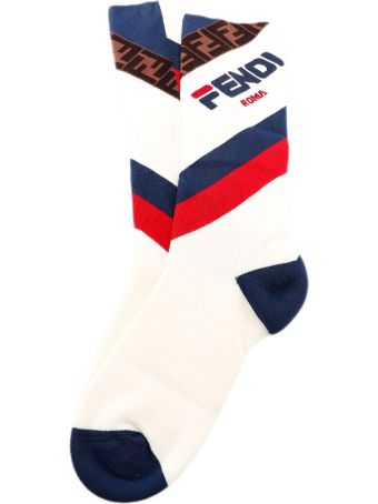 Fendi Logo Socks