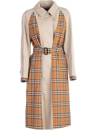 Burberry Guisley Checked Trench