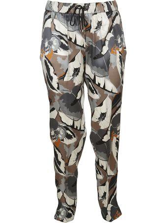 Fabiana Filippi Printed Tapered Trousers
