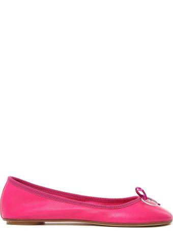 Anna Baiguera Annette Leather Ballet Flats