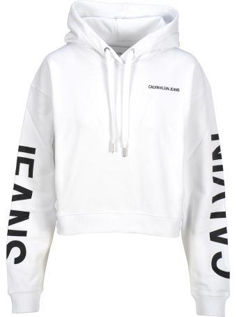 Calvin Klein Jeans Cropped Hoodie