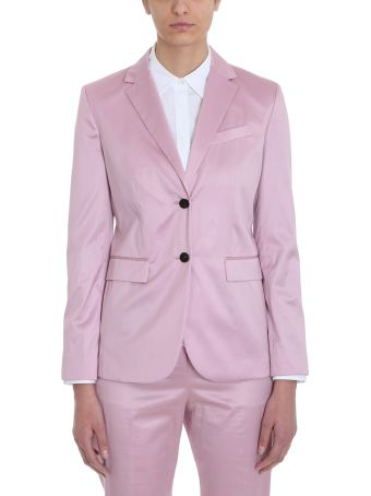 Theory Cotton Chintz Classic Blazer