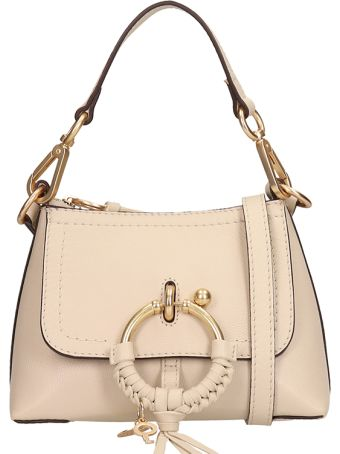 See by Chloé Beige Leather And Suede Bag