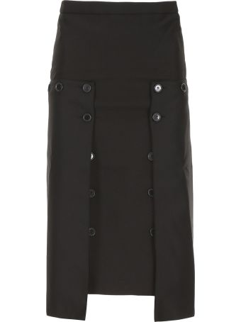 Rokh Pleated Panel Skirt