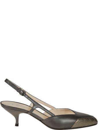 Bottega Veneta Asymmetric Sandals