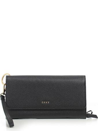 DKNY Pebbled Carryall Continental Wallet