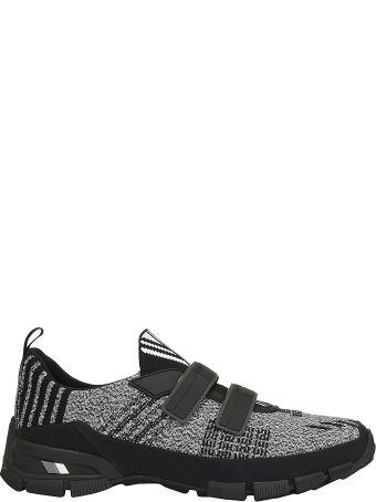 Prada Knit Crossection Sneakers