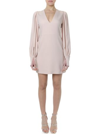 Stella McCartney Linda Pink Viscose Minidress