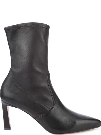 Stuart Weitzman Rapture 75 Stretch-leather Sock Boots