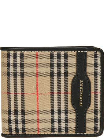 Burberry 1983 Checkered Double Weight Wallet