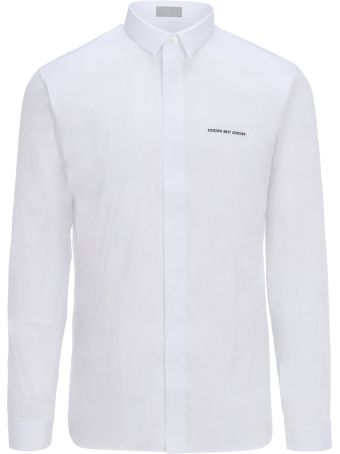 Dior Homme Shirt Stretch Logo In Produciton Blk
