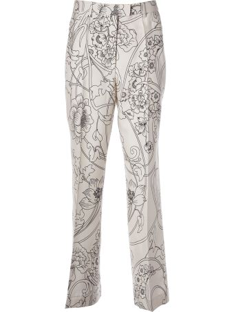 Etro Floral Print Trousers