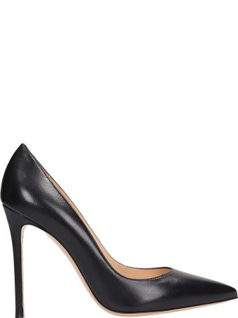 Lerre Black Calf Leather Pumps