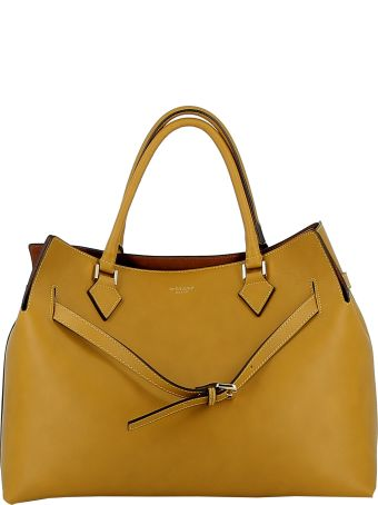 Avenue 67 Senape Leather Tote