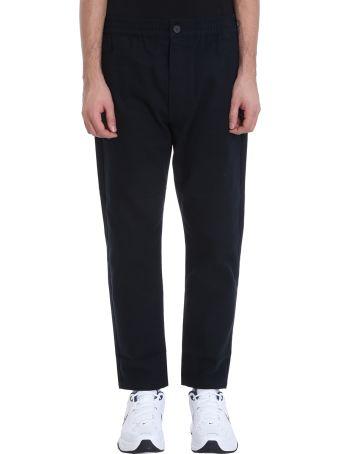 Bonsai Blue Cotton Chino Pants
