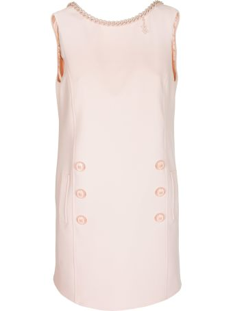 Elisabetta Franchi Celyn B. Sleeveless Boxy Dress