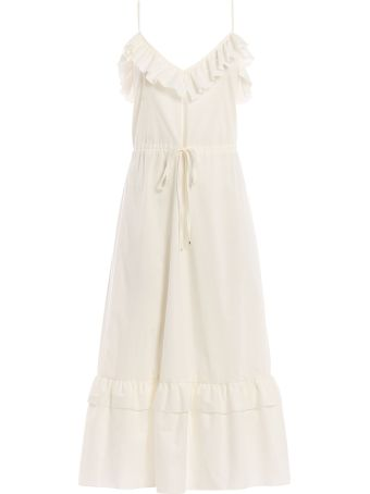 Blugirl Ruffled Midi Dress