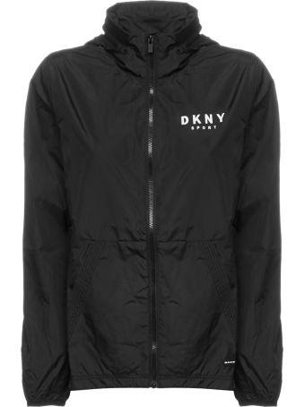 DKNY Logo Windbreaker