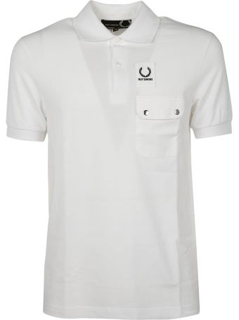 Fred Perry Raf Simons X Fred Perry Snap Pocket Polo Shirt