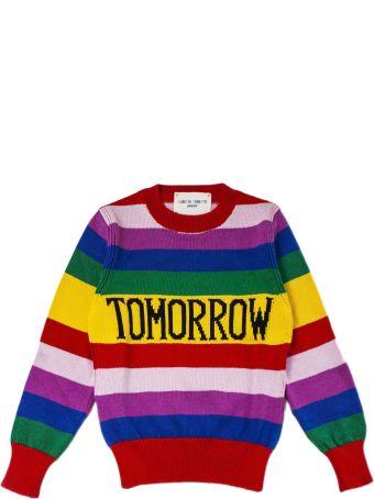"""Alberta Ferretti """"tomorrow"""" Pullover In Multicolor"""