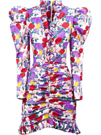 Giuseppe di Morabito Multicolored Silk Blend Dress