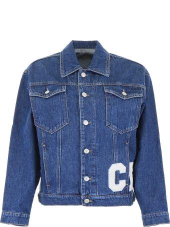Chiara Ferragni Denim Jacket With Patches