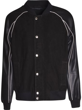 Les Hommes Buttoned Bomber