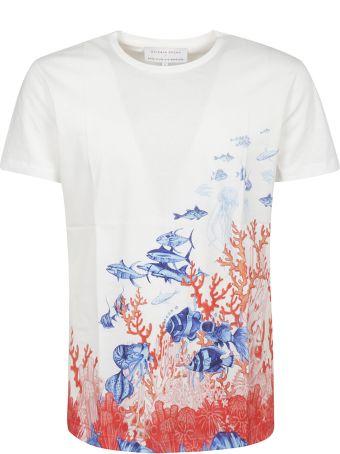 Orlebar Brown Abstract Print T-shirt