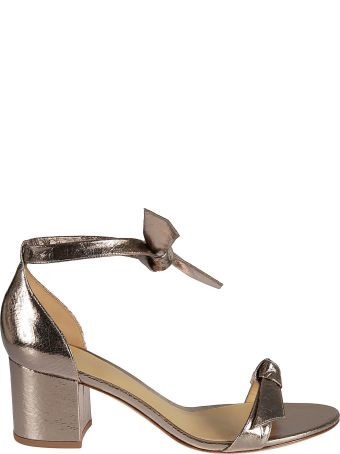 Alexandre Birman Block Heel Knot Sandals
