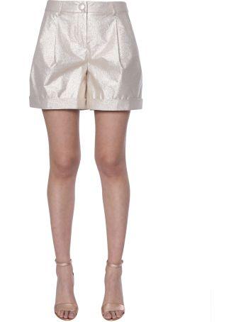 Boutique Moschino Lurex Shorts