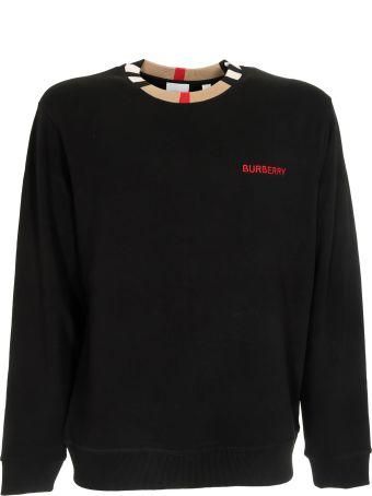 Burberry Icon Stripe Detail Sweatshirt