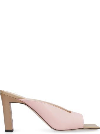 Wandler Isa Leather Sandals