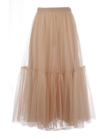 Christian Dior Dior Pleated Combi Skirt