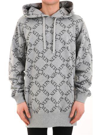 Valentino Sweatshirt Logo Gray