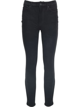 Mother The Looker Faux-suede Texture Jeans