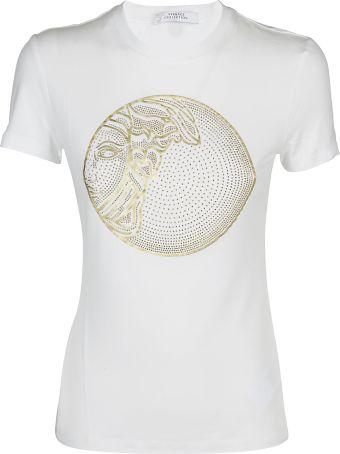 Versace Collection Studded Medusa T-shirt