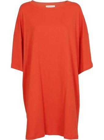 Erika Cavallini Oversized T-shirt Dress