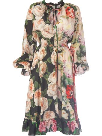Dolce & Gabbana Flower Pattern Dress