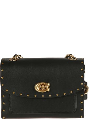 Coach Studded Parker Shoulder Bag