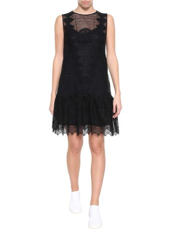 Moncler Gamme Rouge Sissone Lace Dress