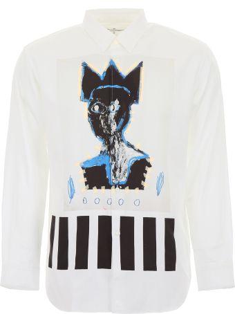 Comme des Garçons Shirt Shirt With Basquiat Print