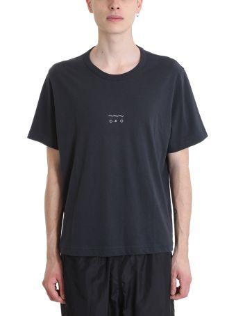 Our Legacy Blue Cotton T-shirt