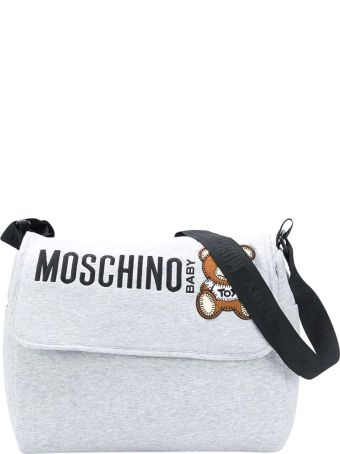 Moschino Gray Changing Bag