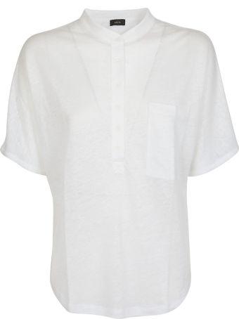 Joseph Buttoned T-shirt