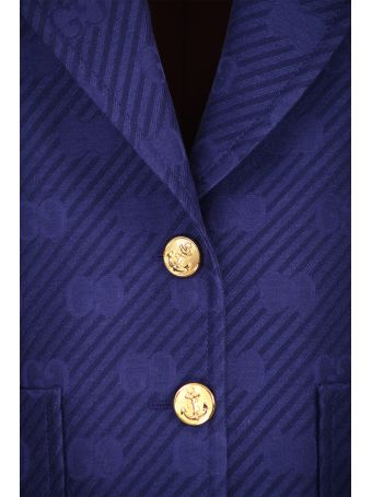 Gucci Wool And Silk Jacket