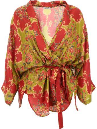 Mes Demoiselles Davince Kimono Shirt